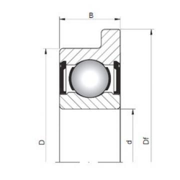 Bearing FL619/6 ZZ ISO