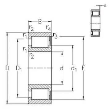 Bearing NCF29/500-V NKE